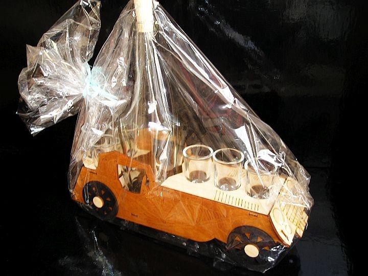 Geschenk Alkohol Flaschen, RETRO Auto, Fahrzeug, Fahrzeug