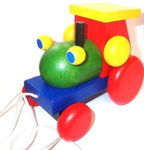 Traktor für Jungen, Diätholzspielzeug