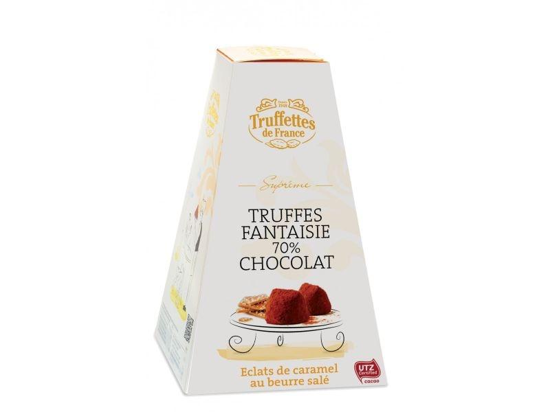 70% Trüffel mit Karamellen und gesalzener Butter süße Geschenke für Frauen