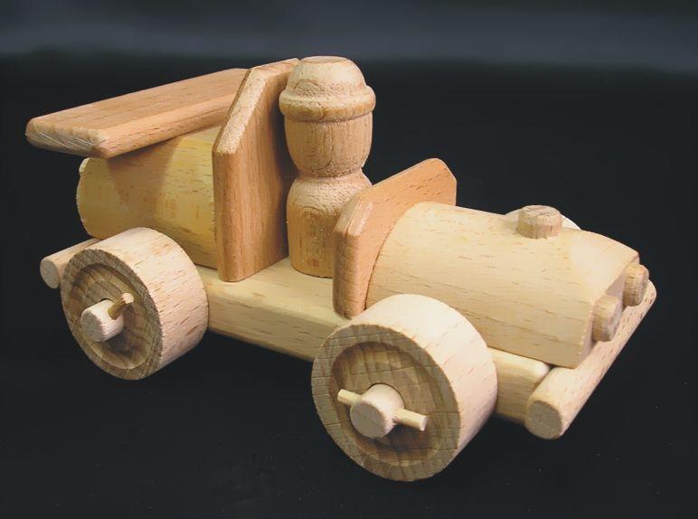 Rennwagen mit Fahrer Holzspielzeug Geschenke für Fahrer