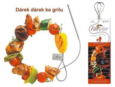 Extra lange Edelstahl-Grillspießnadel für kleinen und großen Grill 2 Stück extra lang