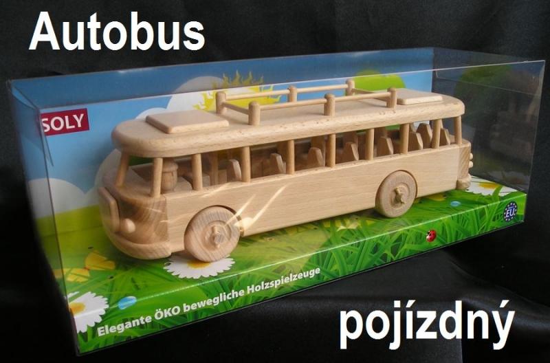 Holz, Spielzeug, Bus, Kinderbus, Kinderspielzeug