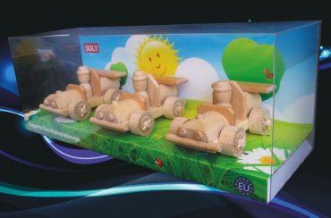Holzspielzeugautos