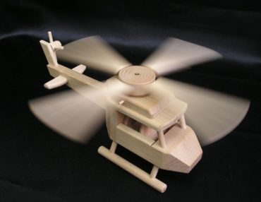 Hubschrauber, Spielzeug Holz Geschenke
