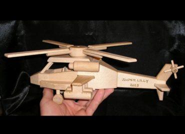 Hubschrauber Spielzeug Holzgeschenke und Spielzeug