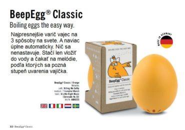Küchentimer zum Kochen von Eiern musikalischer Eierkocher BeepEgg Classic