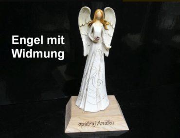Engel mit Widmung