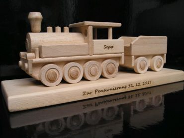 Geschenke für Eisenbahner, Zug, Lokomotive