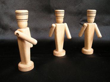 Holzsoldaten, Spielzeug, Souvenirs
