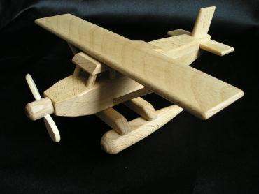 Wasserflugzeug - Holzflugzeug
