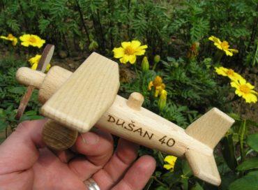 Flugzeug Kinder Holzspielzeug