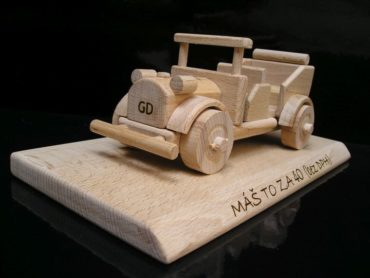 Autoveteran, Veteranenauto Holzspielzeug Geschenk für Fahrer