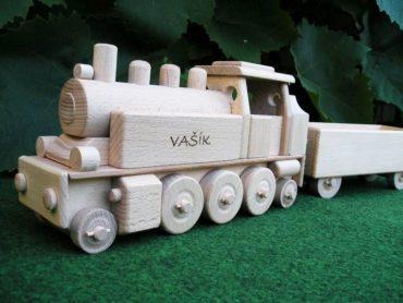Dampflokomotive Holzspielzeug für Jungen