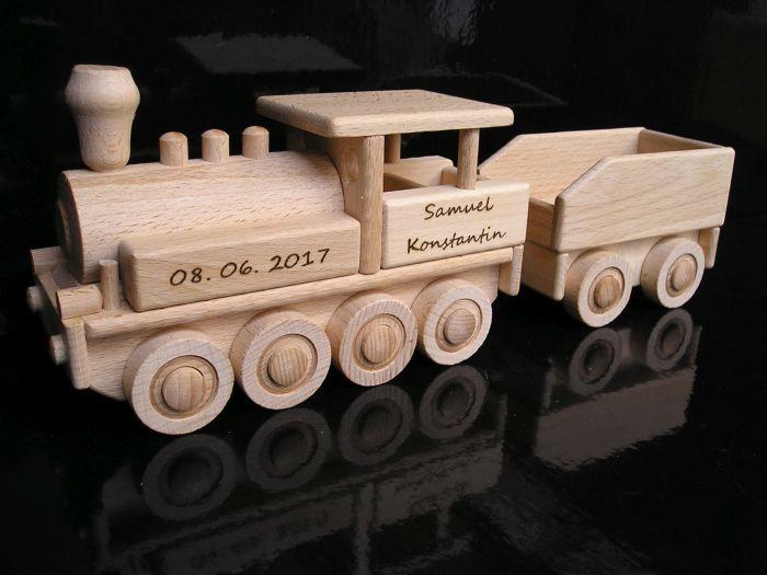 Lok, Lokomotiven, Züge, Holz, Spielzeug, für Kinderrevené hračky pre chlapcov
