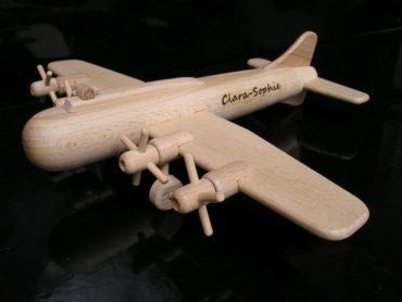 Großes Flugzeug Spielzeug, B17 Propeller Bomber Geschenk für Jungen