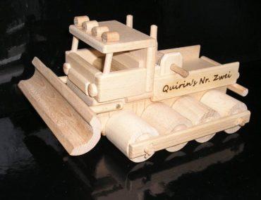 Pistenraupe Spielzeuge. Holzspielzeug für Väter oder JungenPistenraupe Spielzeuge. Holzspielzeug für Väter oder Jungen