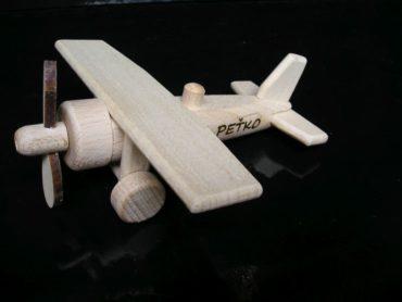 Flugzeuge Holzspielzeug