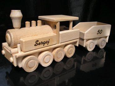 Lokomotive Holzspielzeug für Jungen