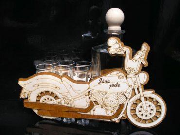 Motorrad Chooper Geschenk für Biker