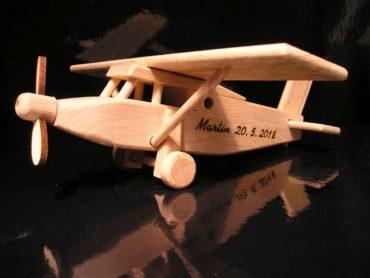 Pilatus Holzflugzeug