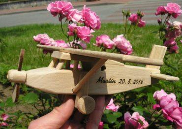 Pilatus Typ Holzflugzeug