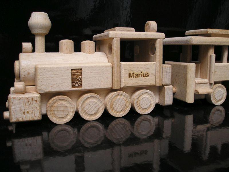 Holzzug Holzspielzeug Geschenke für Kinder
