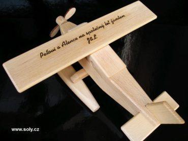 Wasserflugzeug - Holz-flugzeug Holzspielzeug Geschenke für Piloten