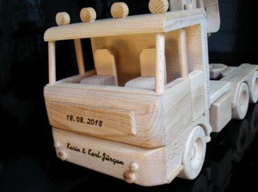 Holzspielzeug Geschenke für Fahrer