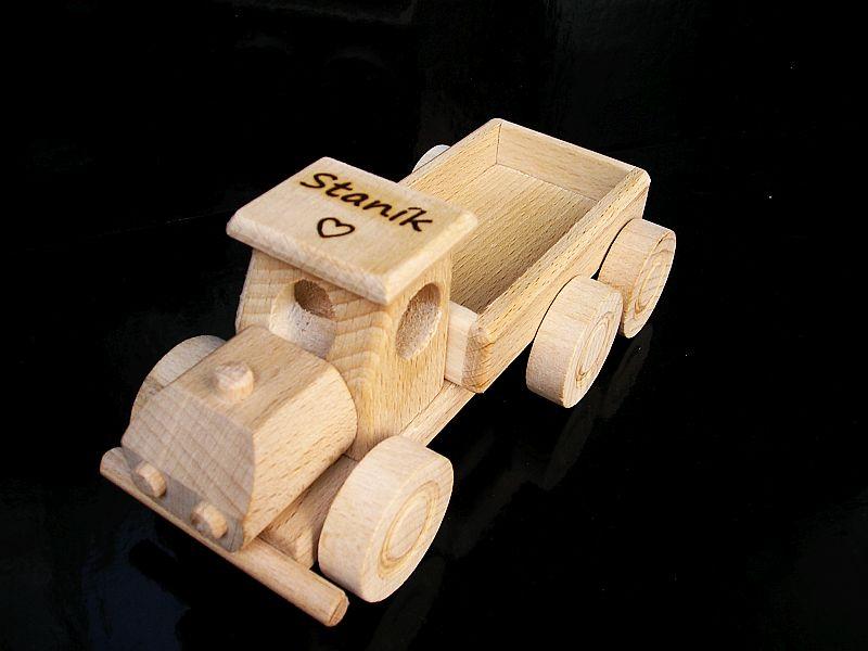 Holzspielzeug, LKW + Bulldozer Kinder Spielzeugozér