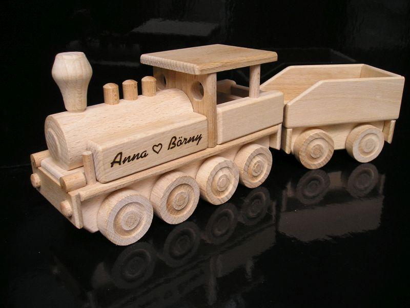 Dampflokomotive Holzzüge, Spielzeug