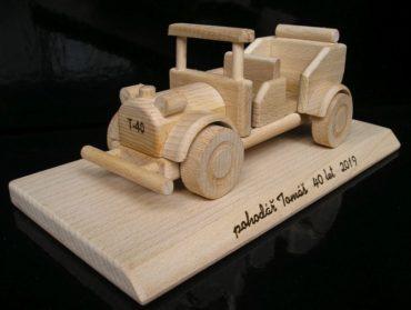 Rennwagen + Veteranenauto Holzspielzeug