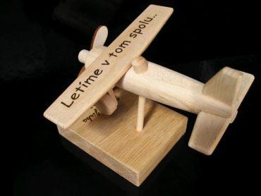 Flugzeug Holz Geburtstagsgeschenk für Piloten