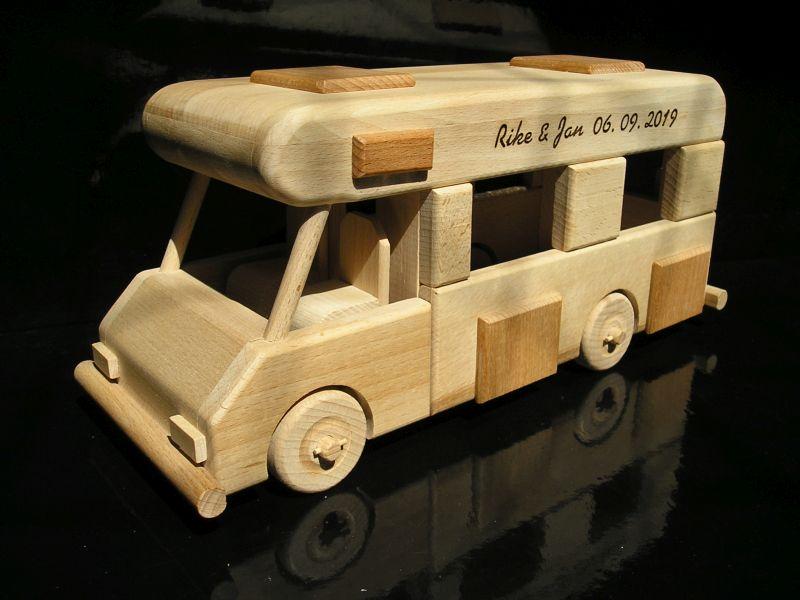 Wohnmobil Holzgeschenk