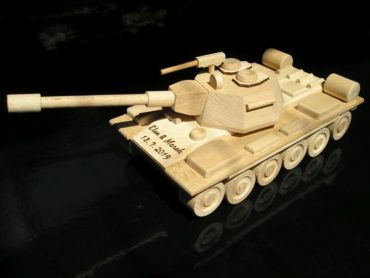 Panzeren Holzgeschenke und Spielzeug