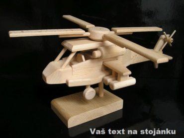 Militärhubschrauber, Holzgeschenk Holzgeschenke und Spielzeug