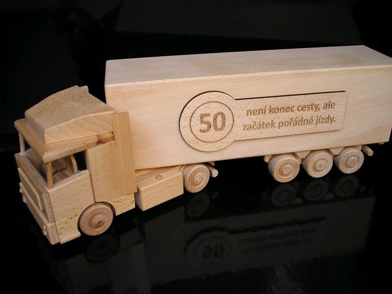 Geburtstag des LKW-Fahrers