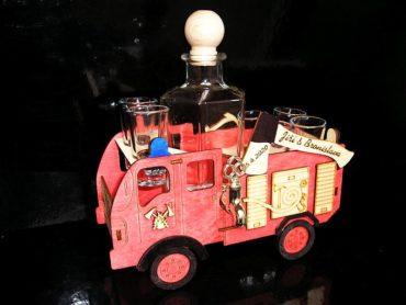 Geschenke Flaschen für Feuerwehrmann