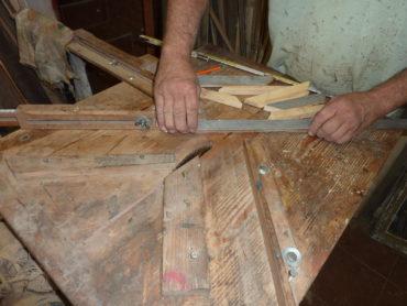 Retro-Holzrahmen für Bilder und Fotos, Fotorahmen, Rahmen, Fotorahmen, Natur, Weiß, blau, grün