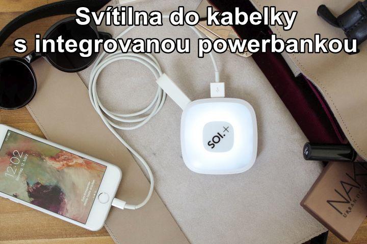PowerBank mit LED Handtaschenlicht