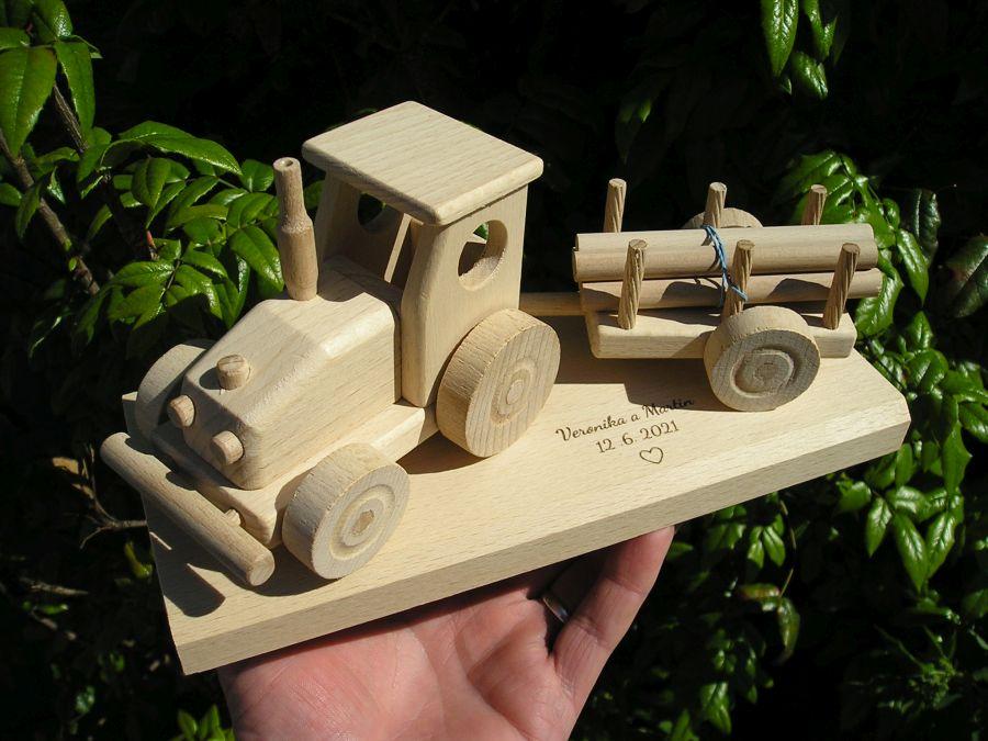 Traktor-Hochzeitsgeschenk