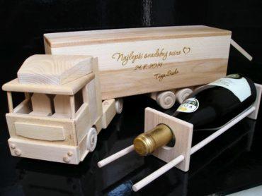 Wein, Alkohol-LKW
