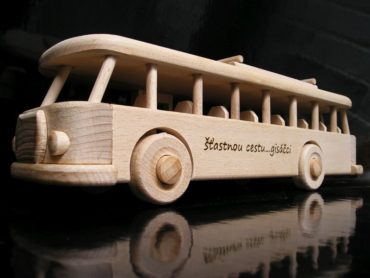 Holzspielzeug - Bus RTO