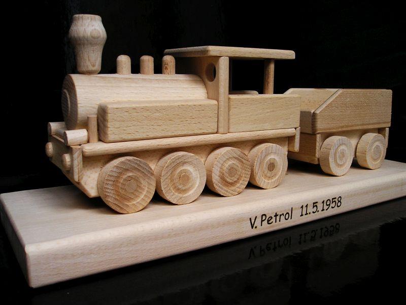 Holzgeschenk Zug