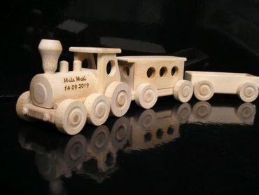 Holzzüge für die jüngsten Kinder Holzspielzeug Holzgeschenke