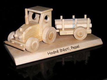 Holzgeschenke für Schubkarrenfahrer, Holzspielzeug