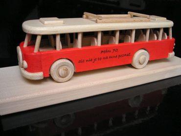 Bus, ein Geschenk für den Fahrer
