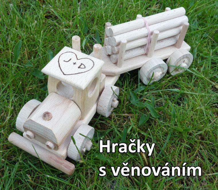 Holztransporter Holzspielzeug Geschenke für Fahrer