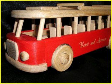 Holzbus, Geschenke für den Fahrer, Holzgeschenke
