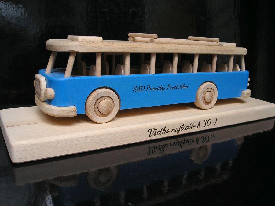 Blau Bus Geschenk Spielzeug