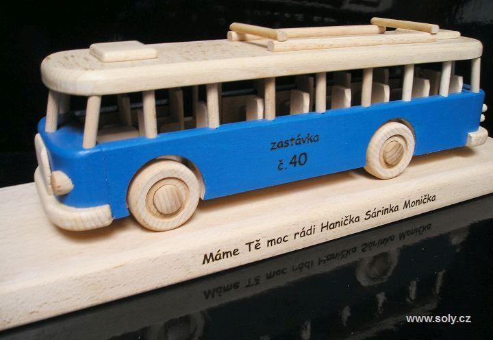Spielzeugbus Geschenk zum Geburtstag